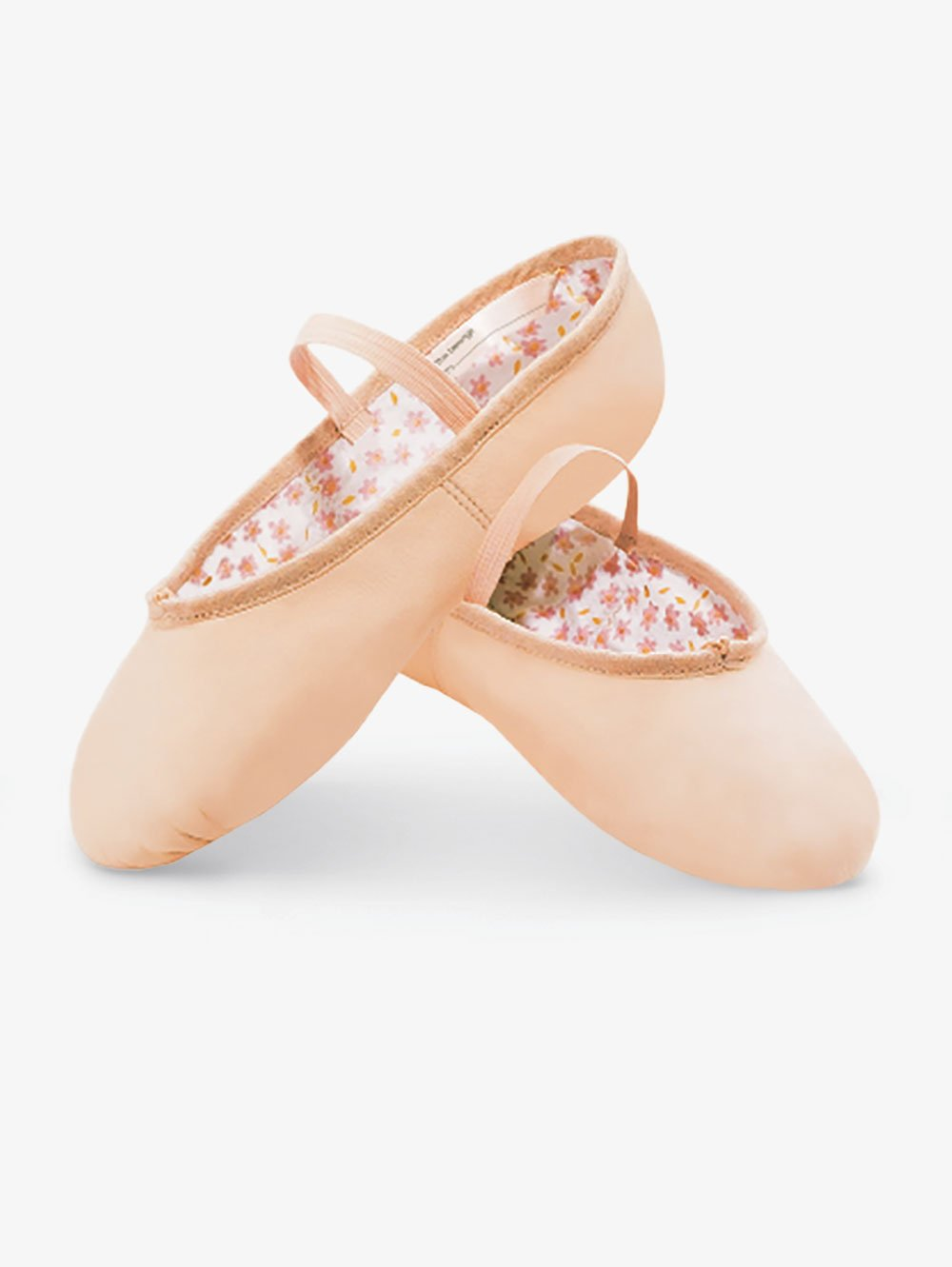 Roch Valley Ophelia Full Sole Pink Leather Ballet Shoes