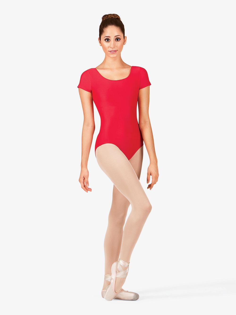 Adult Short Sleeve Dance Leotard D5102