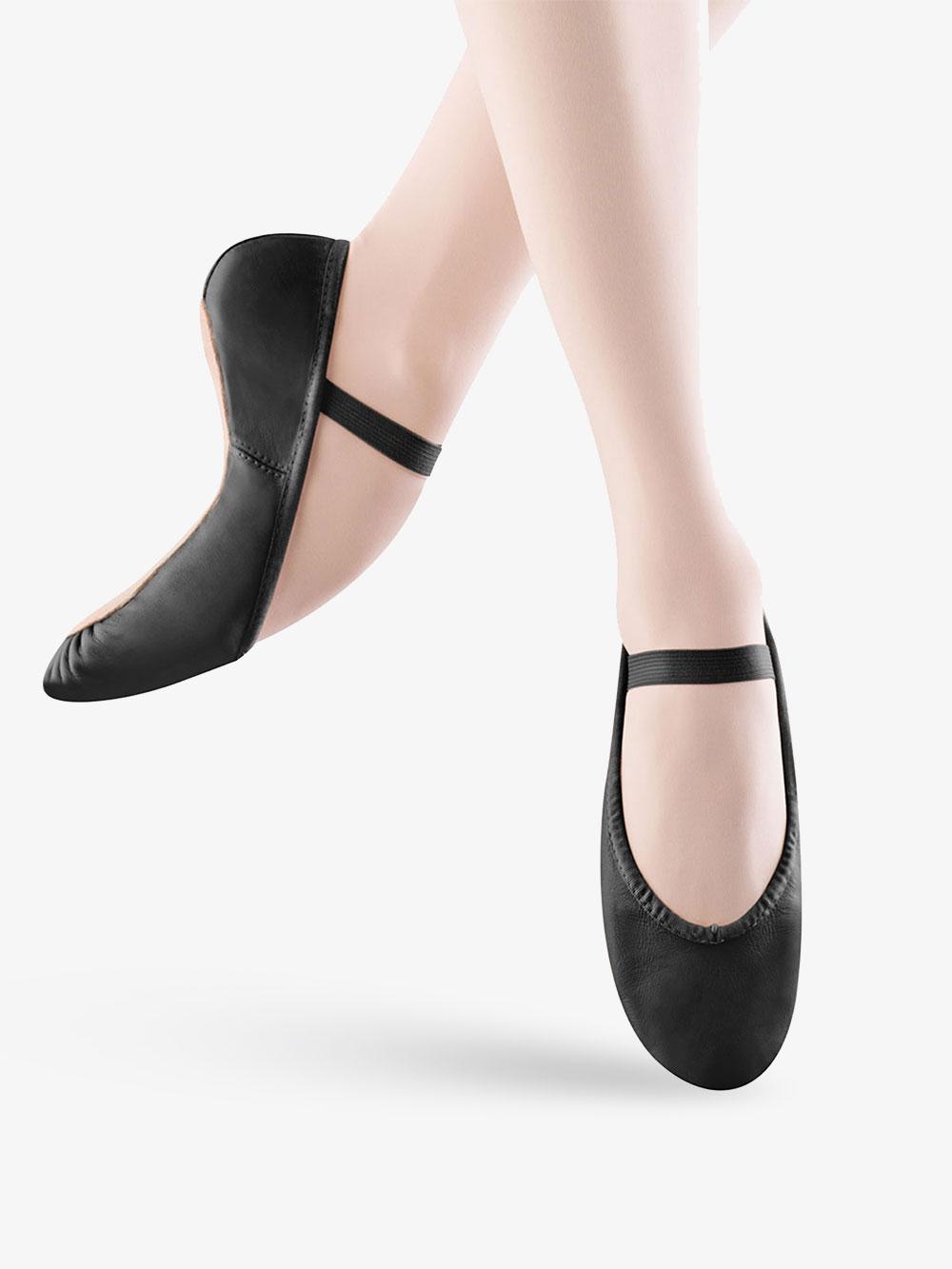 Bloch Girls Dance Dansoft Full Sole Leather Ballet Slipper//Shoe 1.5 Wide Little Kid Pink