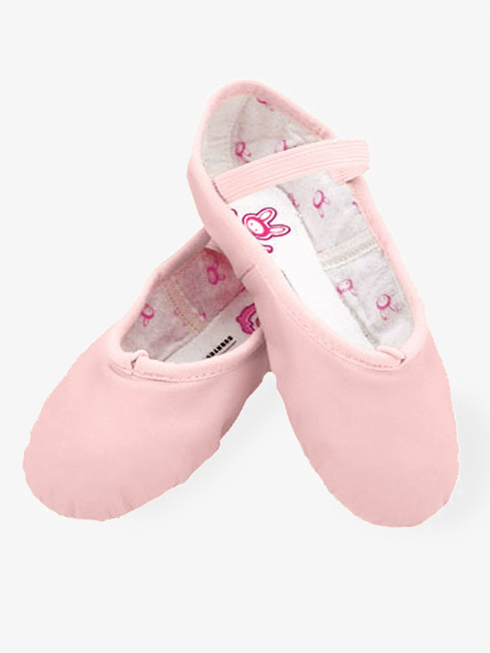 PINK 2 B US Little Kid Bloch Dance Girls Bunnyhop Full Sole Leather Ballet Slipper//Shoe Dance