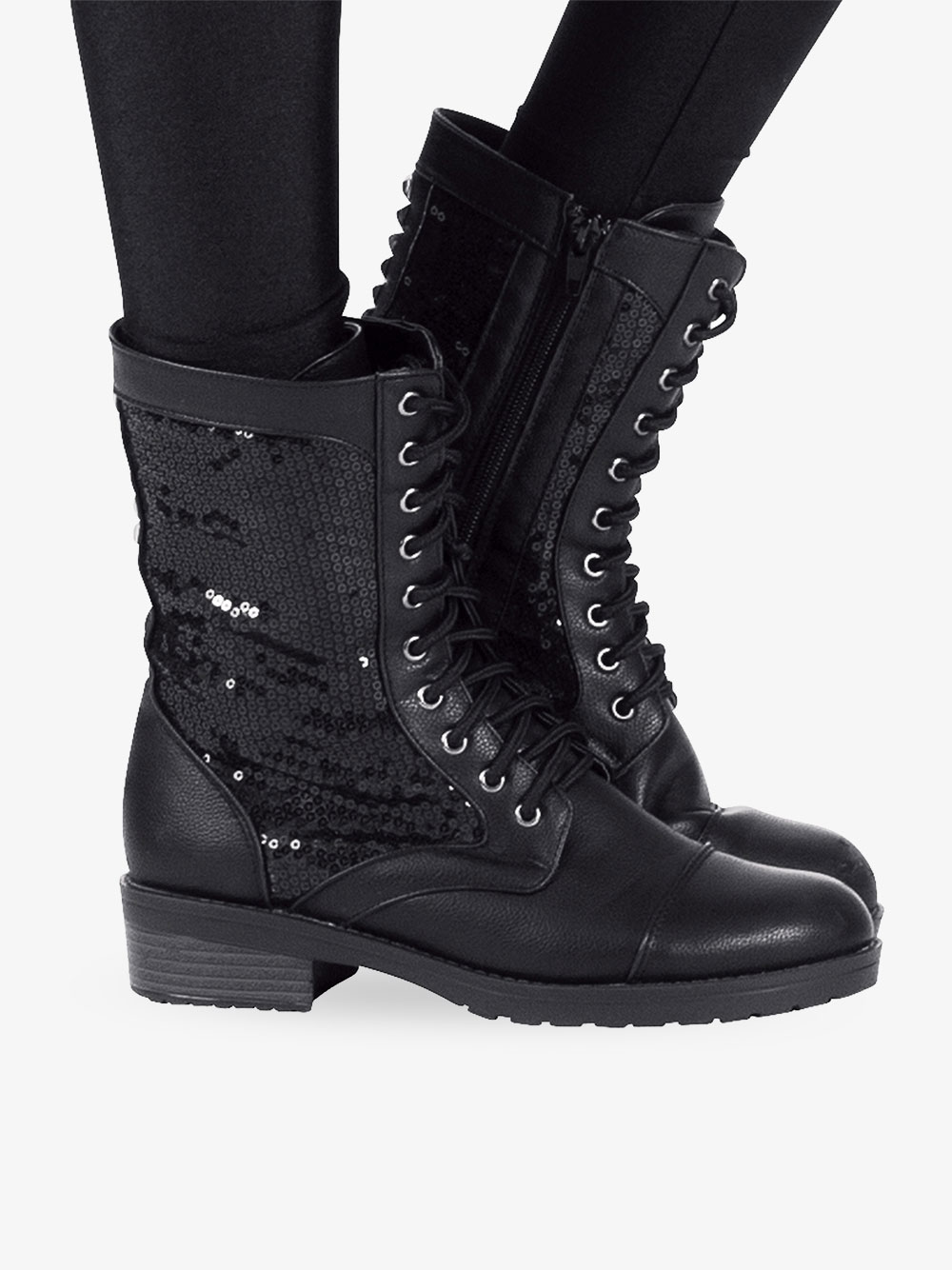 Combat Boot - Shoes   Double Platinum
