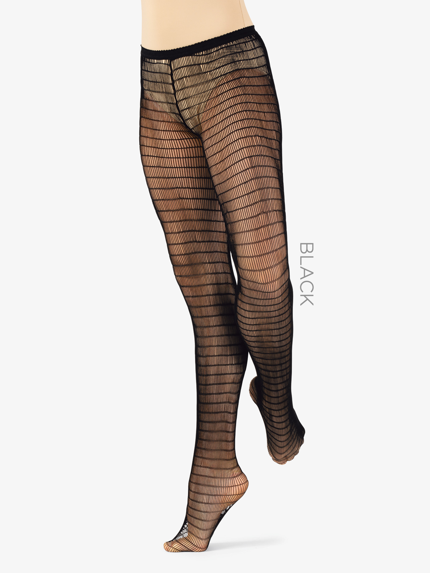 888e765f33d3c Rectangle Striped Net Dance Tights - Fishnet Tights | Leg Avenue LA9328 |  DiscountDance.com