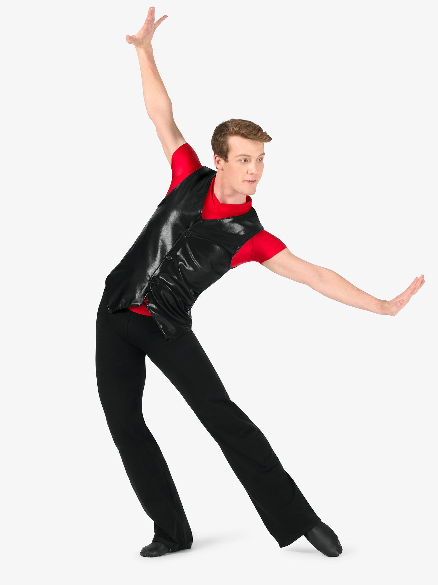 Body Wrappers M191 Men/'s Size Extra Large Black Dancewear Jazz Pants
