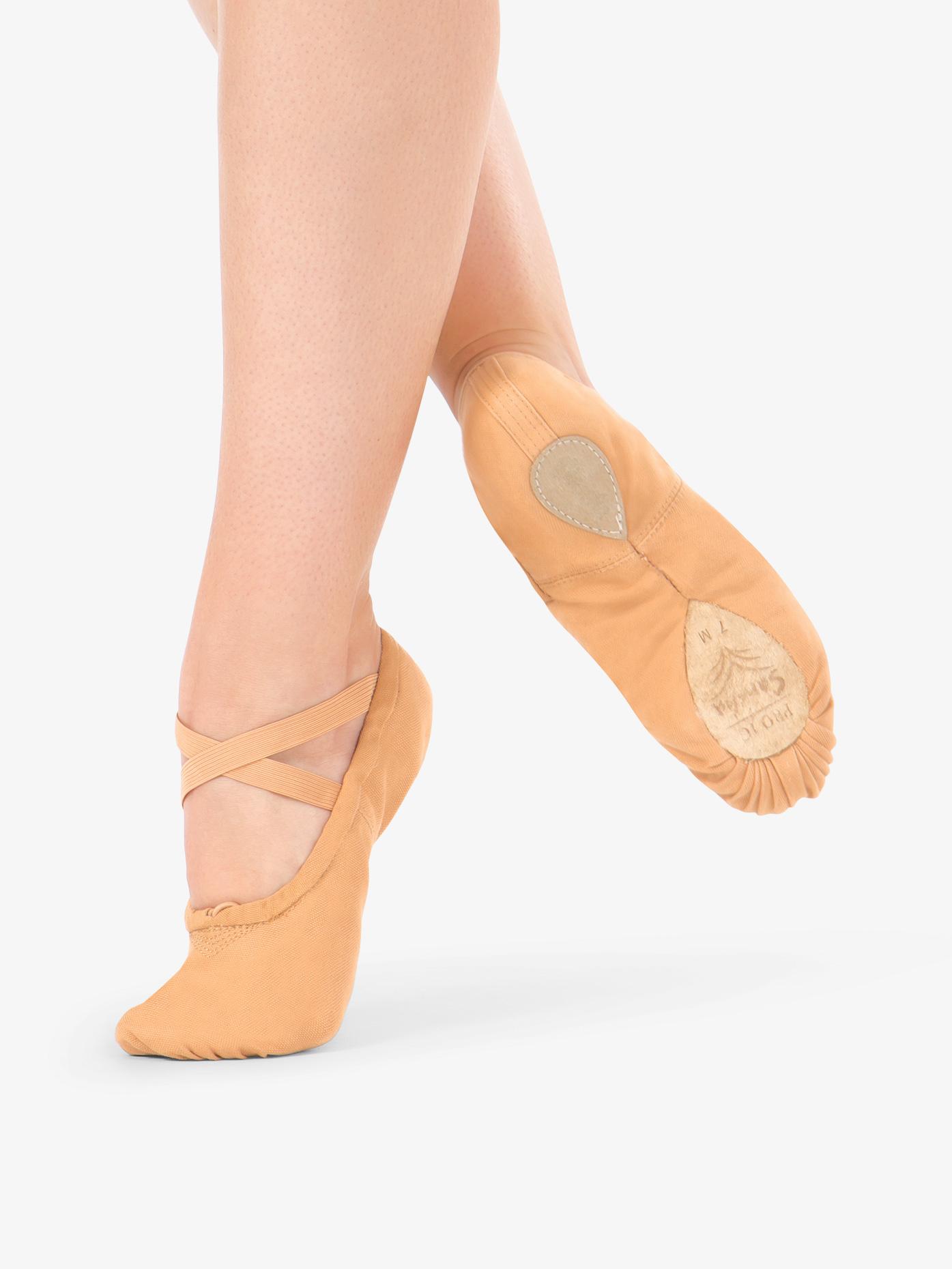 SANSHA Pro 1 Leather Ballet Slipper