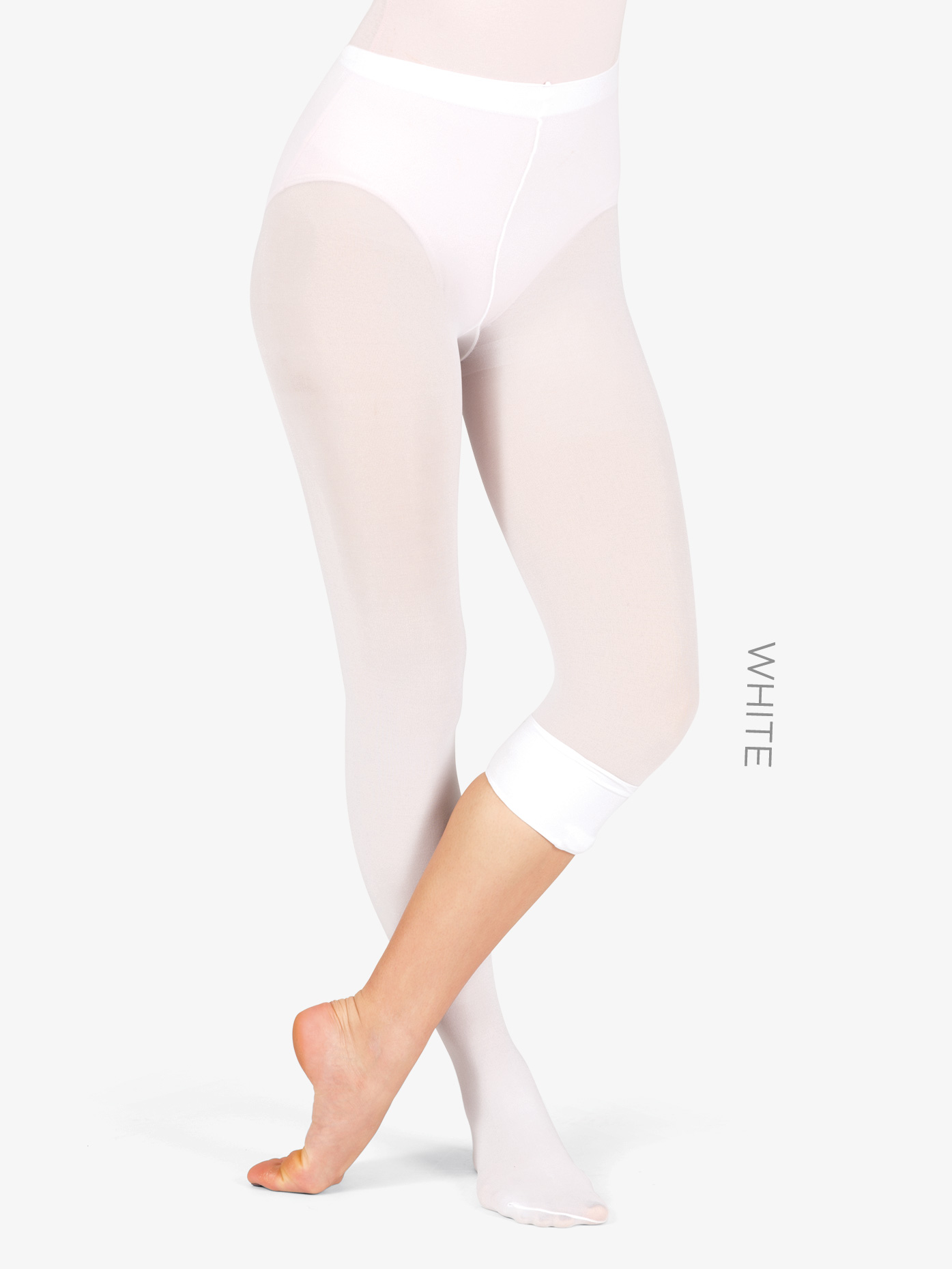 29bf94a01d8aa Convertible Tights with Smooth Self-Knit Waistband - Convertible Tights |  Theatricals T5515 | DiscountDance.com