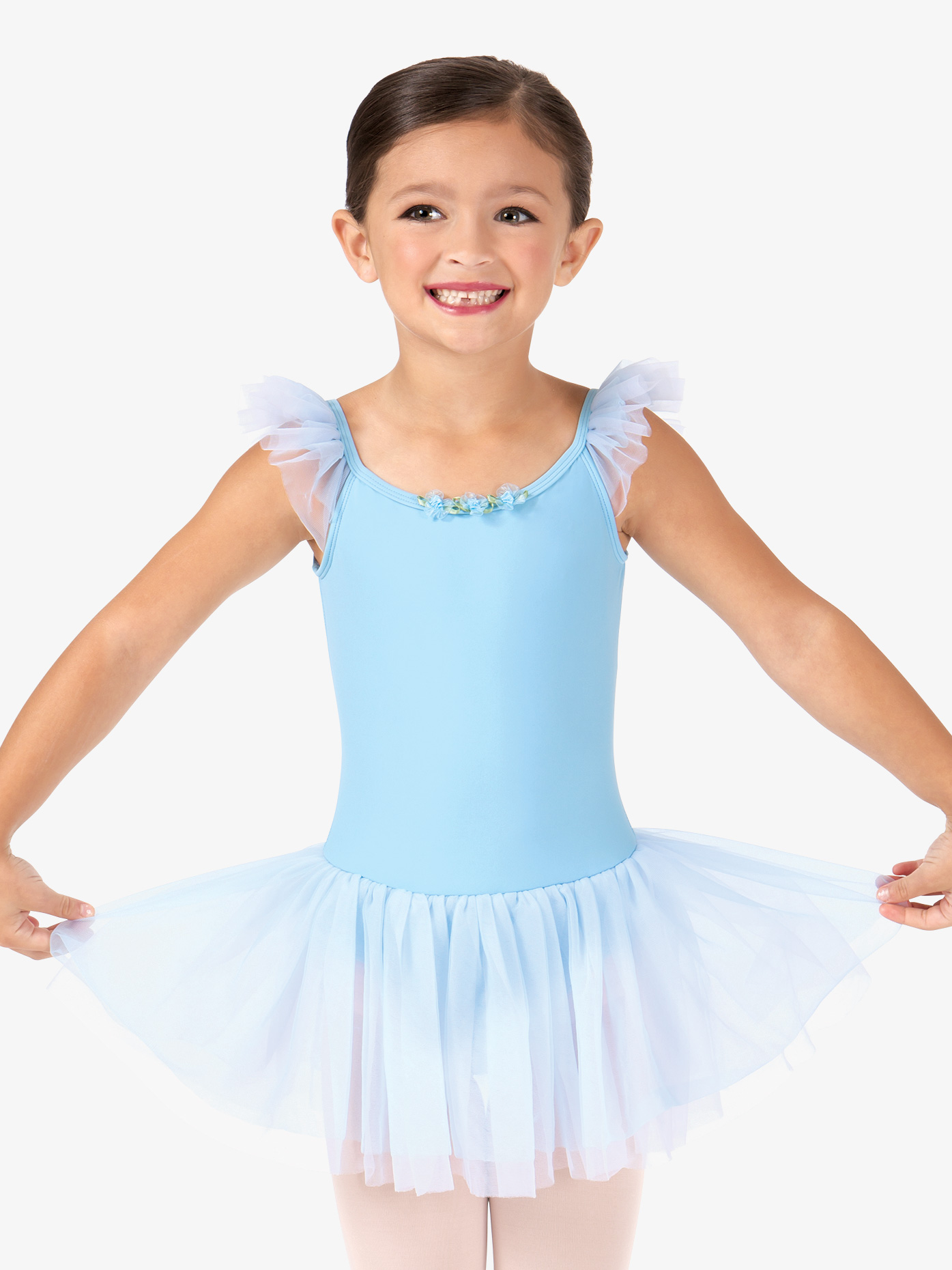 34ca396e78af Flutter Sleeve Dress - Ballet/Lyrical | Theatricals TH5121C ...