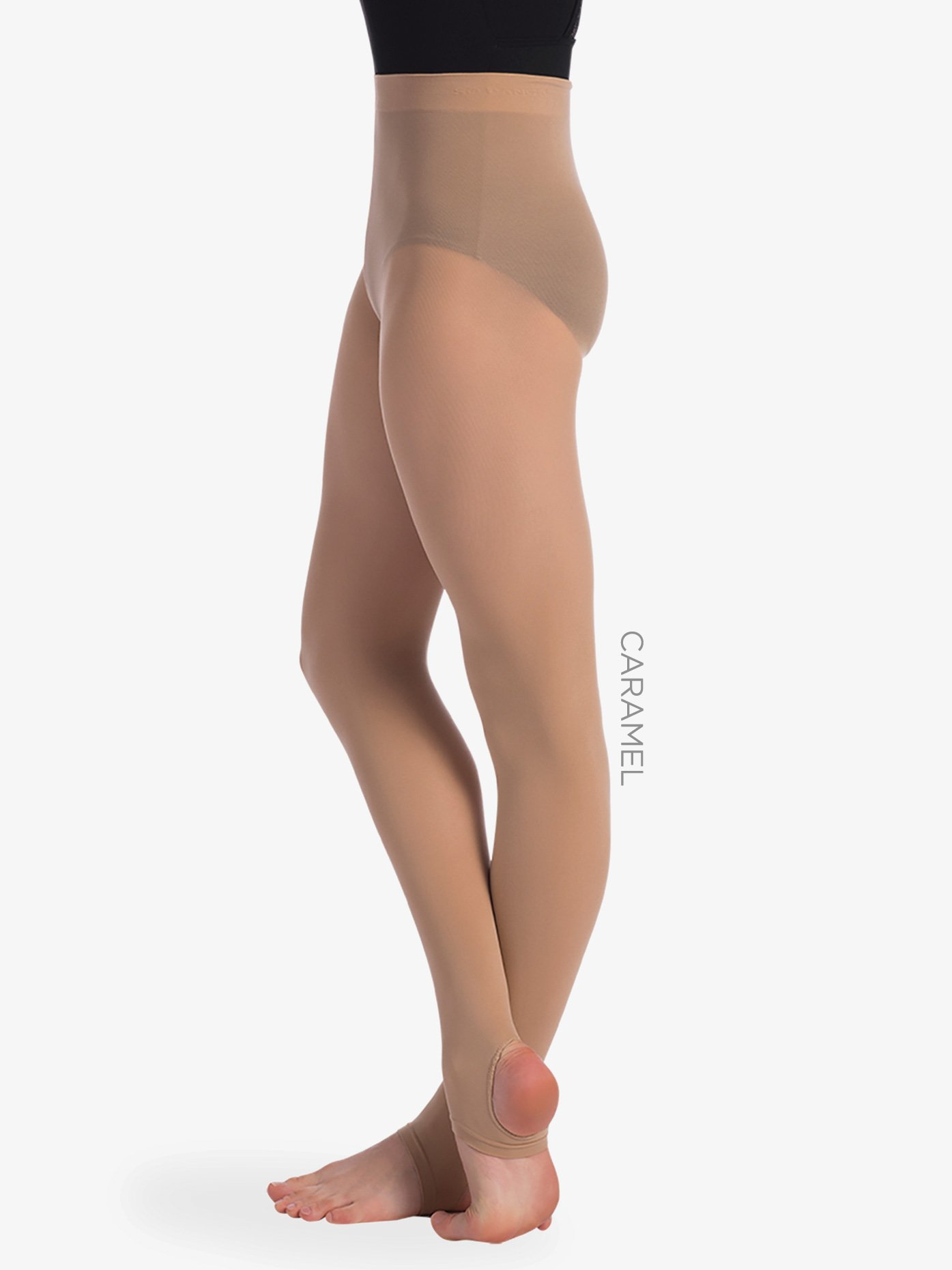 f8b3b565bba8b1 Womens Seamless Stirrup Dance Tights - Style No TS78. Loading zoom