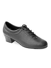 Capezio Womens BR74 Practice 1 Cuban Heel Shoe