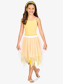 Child Double Layer Chiffon Skirt