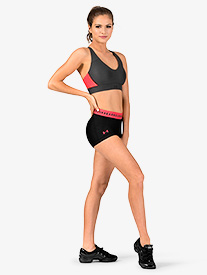 Womens HeatGear Armour Running Shorts