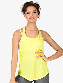 Womens Active Mesh Back Tank Top