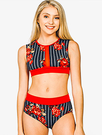 Womens Avery Dual Print Dance Briefs