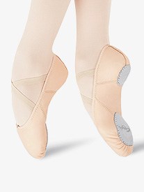 Adult Juliet Leather Split-Sole Ballet Shoes
