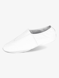 Girls Leather Split Sole Gymnastic Shoes
