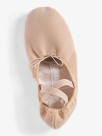 Girls TotalSTRETCH Canvas Split Sole Ballet Shoes