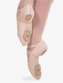 Girls 4-Way Total Stretch Ballet Shoes by Angelo Luzio