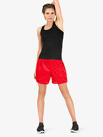 Womens Mesh Gym Shorts