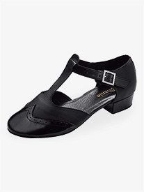 Womens 1.5 Heel Closed Toe Ballroom Shoes