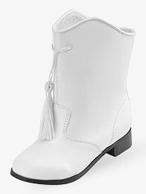 Adult Gotham Majorette Boot White