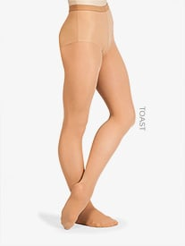 Adult Ultrasoft Microfiber Footed Tights