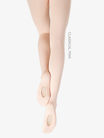 Adult Seamed Professional Mesh Transition Tights