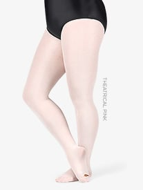c2a42c0dde4 Adult Plus Size totalSTRETCH Convertible Tights