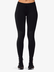 Womens Mesh Contrast Active Leggings