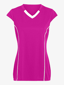 Girls Cap Sleeve Jersey Tee