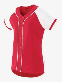 Girls Softball Style Jersey Top