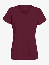 Girls V-Front Short Sleeve Workout Tee
