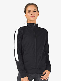 Ladies Medalist Zip Front Warm-Up Jacket