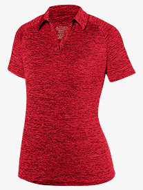 Womens Collared Short Sleeve Polo