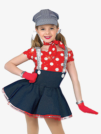Girls Choo Choo Chboogie Character Dance Dress Set