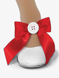 Girls Choo Choo Performance Shoe Bows