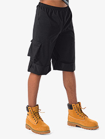 Mens Performance Cuffed Cargo Shorts