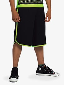 Mens Performance Two-Tone Shorts