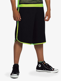 Boys Performance Two-Tone Shorts
