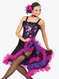 Womens Because I Can Can Character Dance Dress