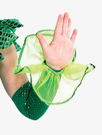 Girls Being Green Performance Half Gloves