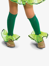 Girls Being Green Performance Legwarmers