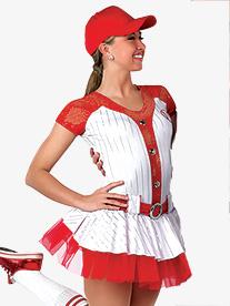 Girls Play Ball Tutu Dress Character Dance Costume Set