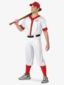 Mens Play Ball 3-Piece Character Dance Costume Set