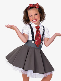 Girls Matilda Character Performance Tutu Dress