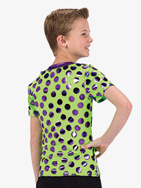 Boys Birthday Surprise Polka Dot Dance Top