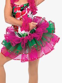 Girls Caribbean Jam Character Dance Costume Tutu Skirt