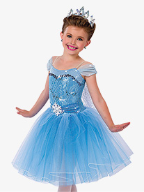Girls Performance Elsa Romantic Tutu Dress