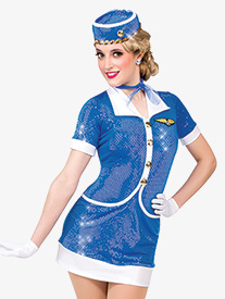 Womens Jet Set Character Performance Dress