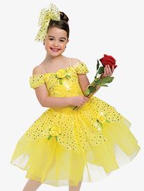 Girls Fairy Tale Princess Character Dance Dress