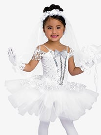 Girls I Do Lace Character Dance Tutu Dress