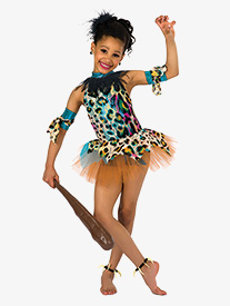 Girls Circle Of Life Halter Character Dance Dress